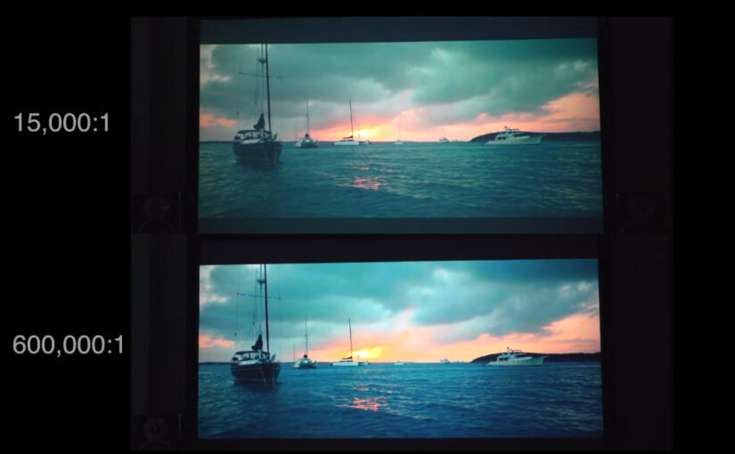 What Is Contrast Ratio In A Projector?